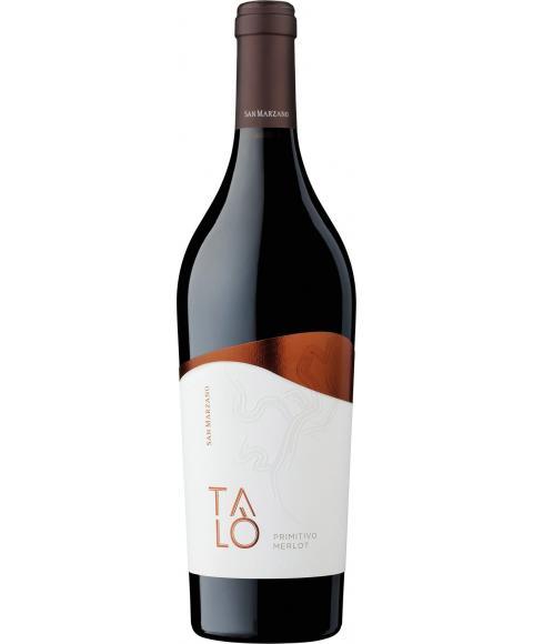 San Marzano  Talo Primitivo Merlot IGP wino czerwone wytrawne2018